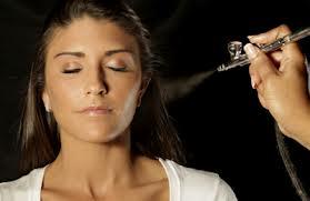 makijaż natryskowy airbrush